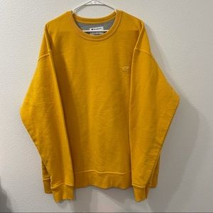 Champion pullover sweatshirt gold 2XL